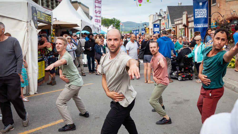 Frictions | Jonathan C. Rousseau, Sébastien Chalumeau, Antoine Turmine, Philippe Meunier | Photo : Roger Saint-Laurent
