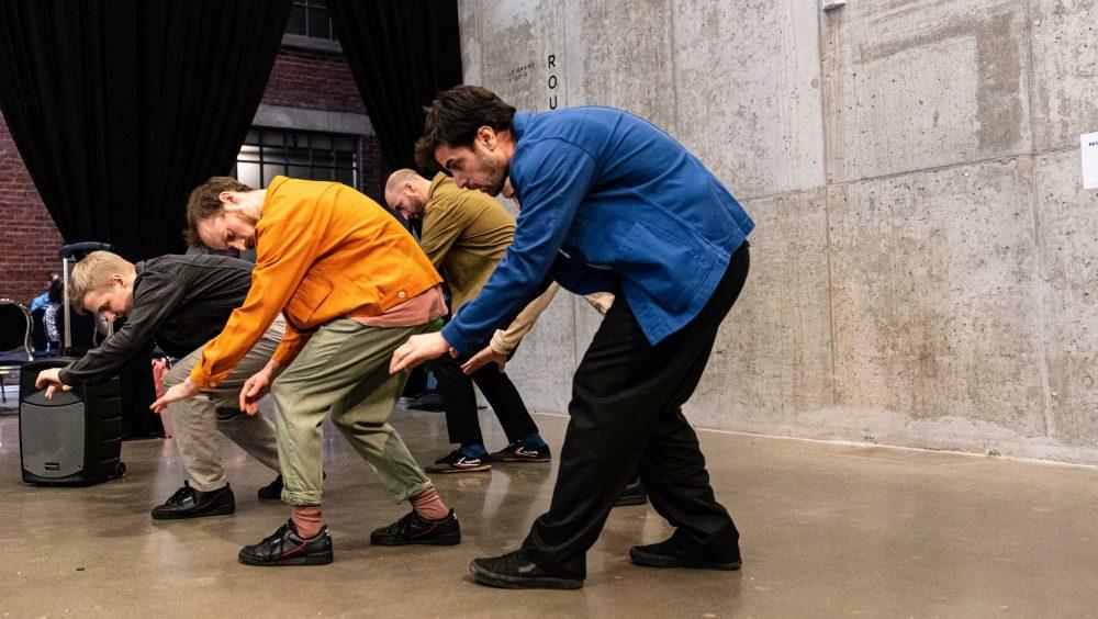 Frictions | Jonathan C. Rousseau, Antoine Turmine, Sébastien Chalumeau, Ian Yaworski  | Photo : David Wong
