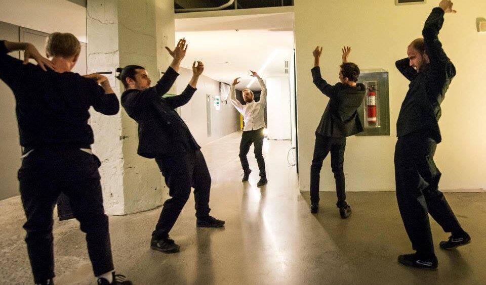 Monte-Charles | Jonathan C. Rousseau, Ian Yaworski, Antoine Turmine, Philippe Meunier, Sébastien Chalumeau | Photo : Denis Martin