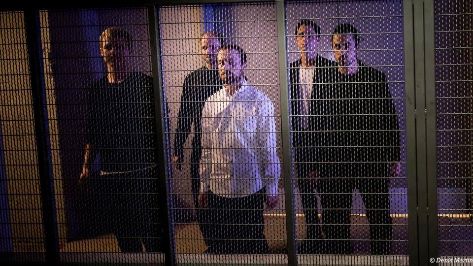 Monte-Charles | Jonathan C. Rousseau, Sébastien Chalumeau, Antoine Turmine, Philippe Meunier, Ian Yaworski | Photo : Denis Martin